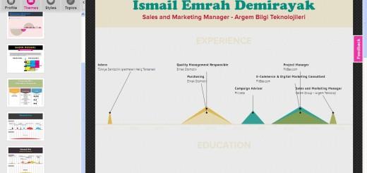 infografik CV
