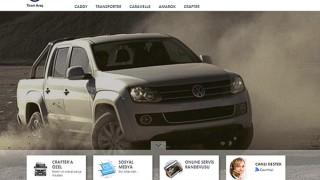 volkswagen ticari araç web sitesi