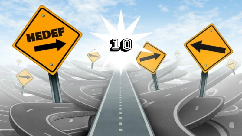 2020 yılında daha mutlu olmak için uygulayacağım 10 hedef